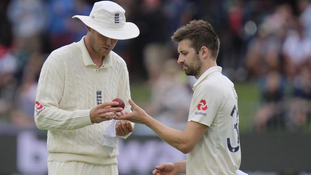 Wood (right) returned from injury against South Africa (AP Photo/Michael Sheehan)