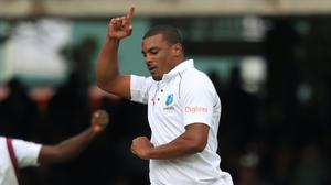 Shannon Gabriel is looking forward after the Joe Root exchange (PA)