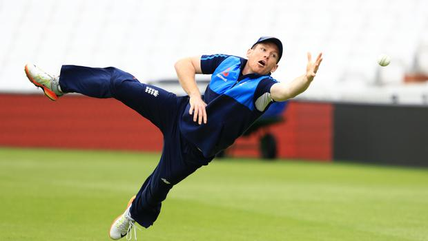 Eoin Morgan, pictured, has admitted relief at fending off a broken finger to be fit for England's one-day international schedule (John Walton/PA)