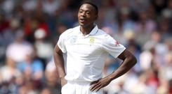 South Africa's Kagiso Rabada has apologised following his ban (Simon Cooper/PA)