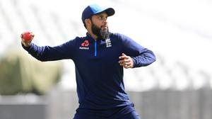 Adil Rashid is back playing red ball cricket (Mike Egerton/PA)