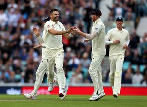 James Anderson is set to return from injury for the Test series against the West Indies (Steven Paston/PA)