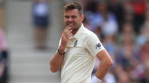 """James Anderson admitted the coronavirus outbreak has left him feeling """"a bit anxious"""" (Mike Egerton/PA)"""