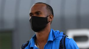 Kraigg Brathwaite made 84 in a warm-up match at Old Trafford (England and Wales Cricket/PA)