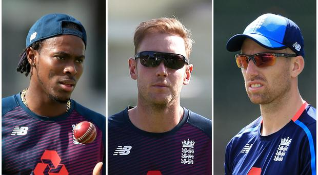 Jofra Archer, Stuart Broad and Jack Leach have been struggling with illness (Mike Egerton/Steven Paston/PA)