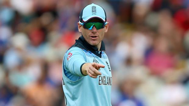 Eoin Morgan's England side suffered a seven-wicket defeat on Tuesday (Nigel French/PA)