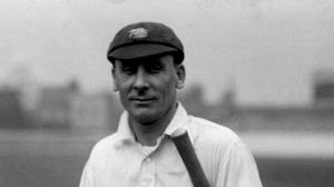 Sir Jack Hobbs scored his 100th first-class 100 in 1923 (PA archive)