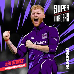 Ben Stokes had been selected by the Northern Superchargers (ECB/PA)