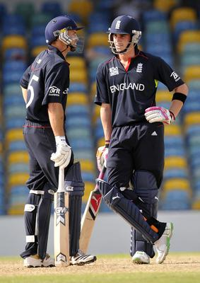 Michael Lumb (left) and Craig Kieswetter (right) benefited from a similar idea 10 years ago (Rebecca Naden/PA)