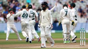 Moeen Ali has not played a Test since last summer's Ashes opener (Mike Egerton/PA)