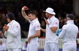 James Anderson hopes to find his usual swing despite new restrictions from the ICC (Anthony Devlin/PA)