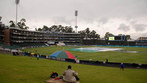 The action heads to Johannesburg on Friday and England will not mind too much if there is rain (PA)