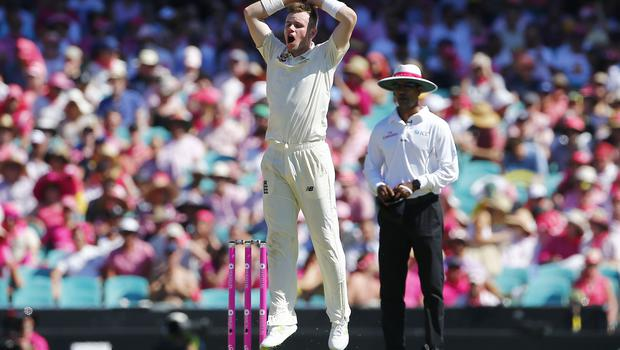 Mason Crane, pictured, was praised by Shane Warne despite unflattering figures on his Test debut (Jason O'Brien/PA)