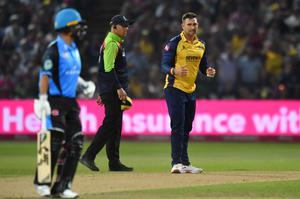 Cameron Delport was also able to impress with the ball for Essex Eagles in the Vitality Blast last year (Anthony Devlin/PA)