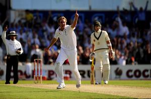 Broad bowled his maiden five-for with his then-best figures of six for 91 as England slumped to an innings defeat against Australia at Headingley in 2009 (John Giles/PA)