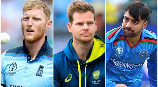 Ben Stokes, Steve Smith and Rashid Khan are due to take part in The Hundred (Tim Goode/Andrew Matthews/Nigel French/PA)