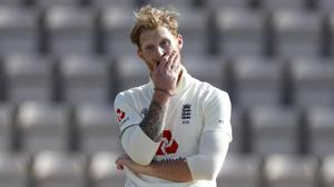 Ben Stokes captained England for the first time (Adrian Dennis/NMC Pool)