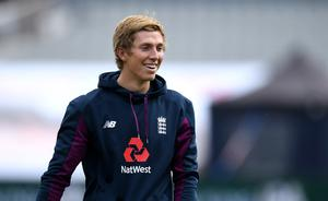 Zak Crawley's place in the side is dependent on Stokes' readiness to bowl (Gareth Copley/Pool)
