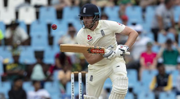 Dom Sibley shone for England (Themba Hadebe/AP)
