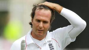Michael Vaughan was unable to lead England in Australia in 2006/07 (Rui Vieira/PA)