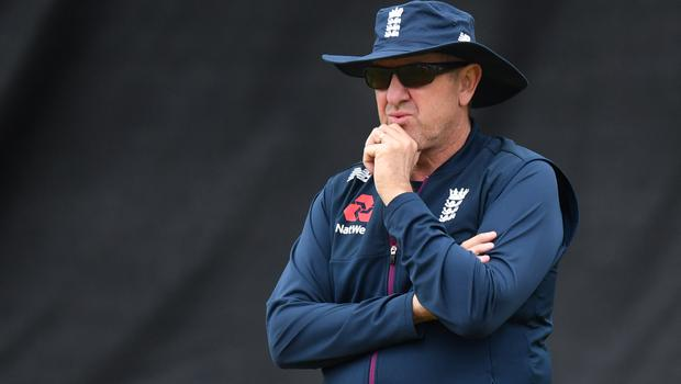 Trevor Bayliss admitted he was concerned about England's prospects after two days of the Test (Anthony Devlin/PA)