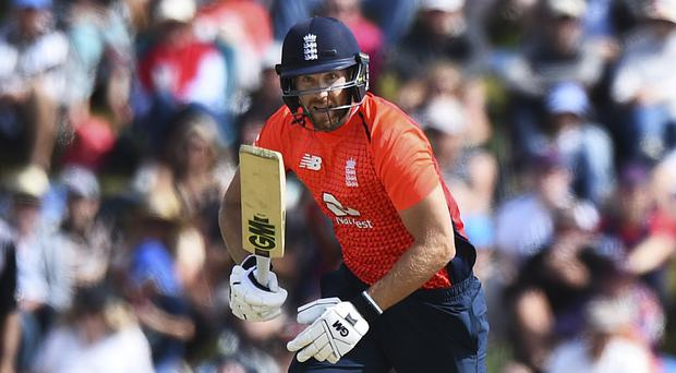 Dawid Malan (pictured) joined Alex Hales in an exclusive club (Chris Symes/AP)