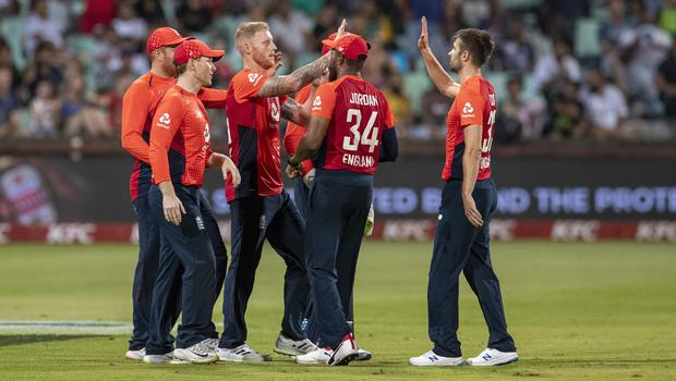 England levelled the three-match series in Durban (Themba Hadebe/AP)