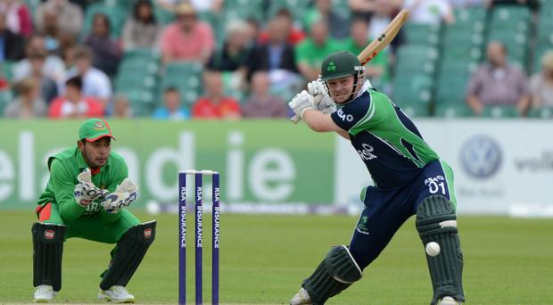 Paul Stirling arrived late in Dubai after attending his grandmother's funeral