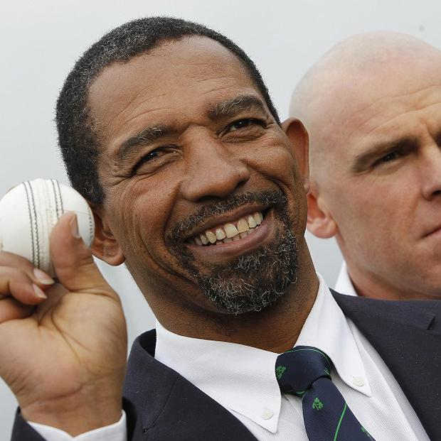 Phil Simmons', left, Ireland host Pakistan in a two-match series in Dublin, which begins on Thursday