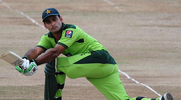 Mohammad Hafeez scored 122 for Pakistan