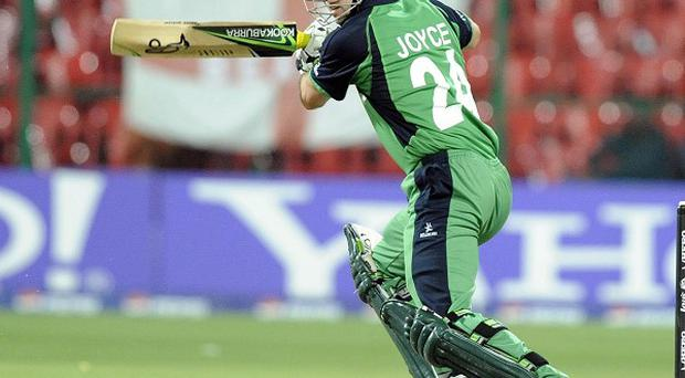 Ed Joyce has helped put Ireland in a strong position