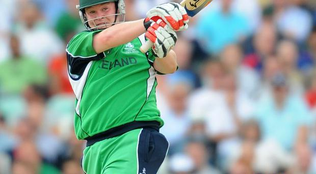 Paul Stirling will resume on Friday on 50