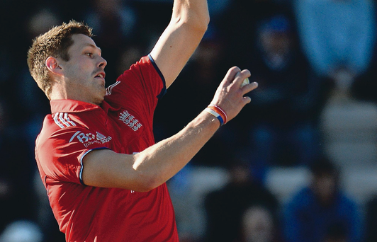 Aiming high: Boyd Rankin is keen to impress the English selectors in upcoming warm-up matches