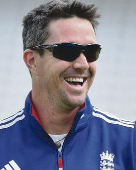 Hitting out: Kevin Pietersen is in a new row before his 100th Test