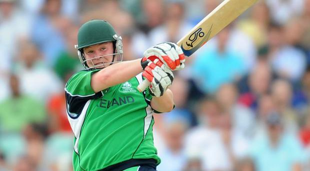 Paul Stirling struck a fine 77 from 46 balls
