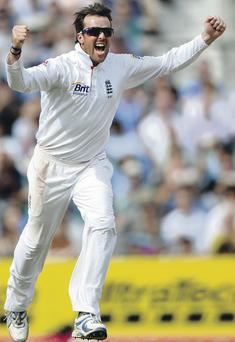 Moving on: Graeme Swann announced his retirement from cricket over the weekend