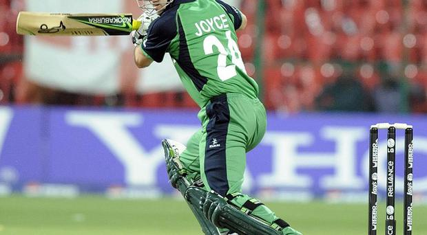 Ed Joyce saw Ireland to victory