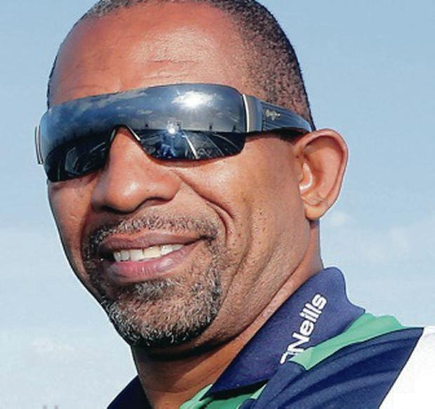 Boosted: Phil Simmons enjoyed Ireland's win in the West Indies