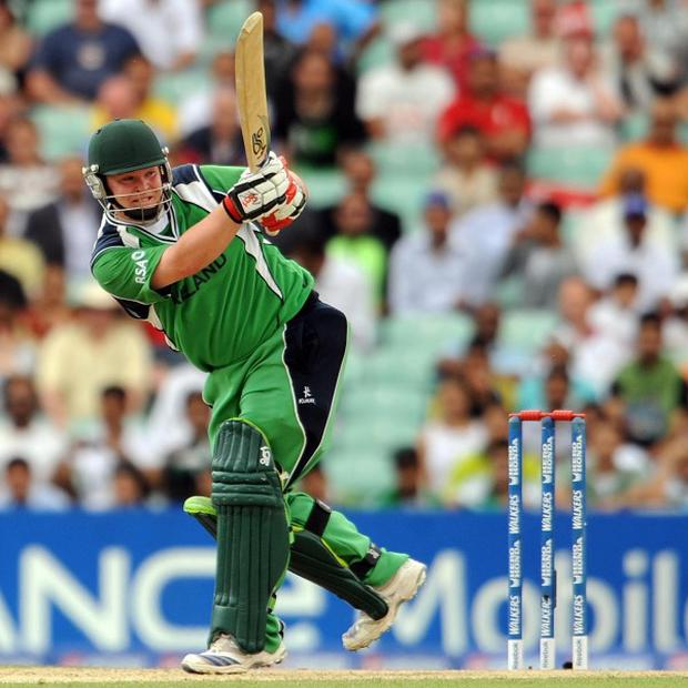 Ireland's Paul Stirling is hoping to be fit to face Holland
