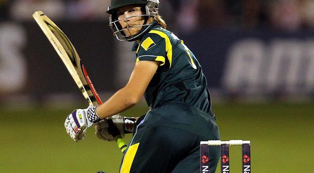 Meg Lanningtop-scored for Australia with a brilliant century