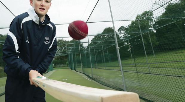 Having a ball: Jack Carson is being hailed as a future Ireland star