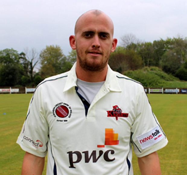 Double: James Cameron-Dow took two wickets