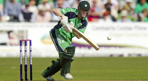 Niall O'Brien's career-best 80 helped Ireland to victory over Scotland