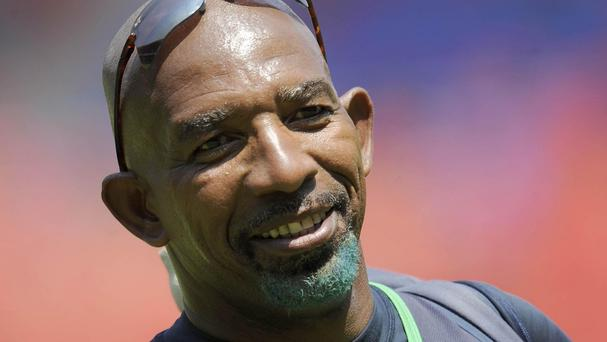 Phil Simmons, pictured, hopes to still help Ireland now he is with the West Indies