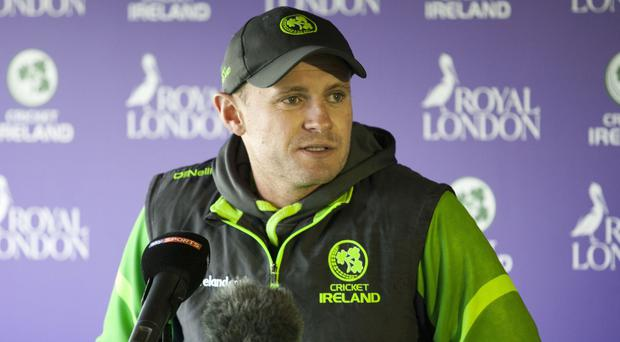 William Porterfield is hoping to lead Ireland to a hat-trick of ICC World Twenty20 qualifying titles