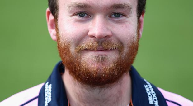 On fire: Paul Stirling hit a 43-ball century
