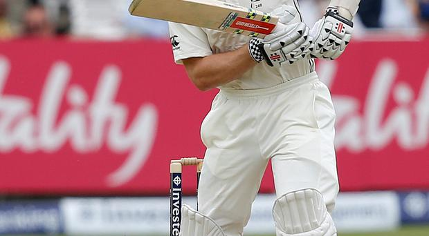 On fire: Kane Williamson knocked out an unbeaten 92