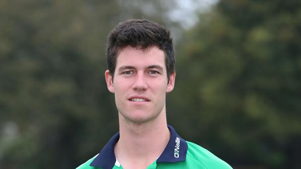 George Dockrell took four wickets as Ireland closed in on victory against UAE