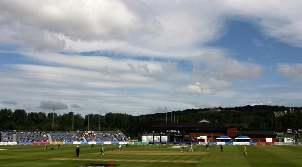 Ireland's World Twenty20 qualifying warm-up clash against UAE was rained off