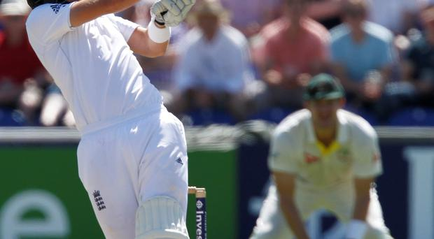 Joe Root scored a century in England's warm-up